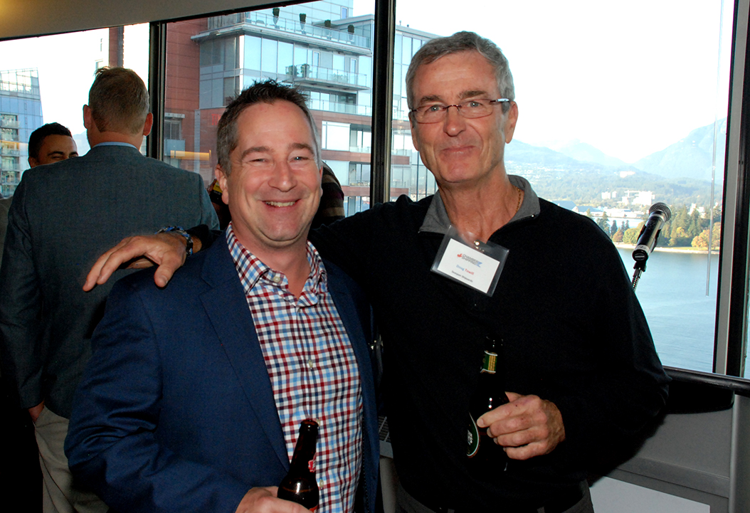 7. Lance Fridfinnson (Colley West) with Doug Towill (Seaspan).